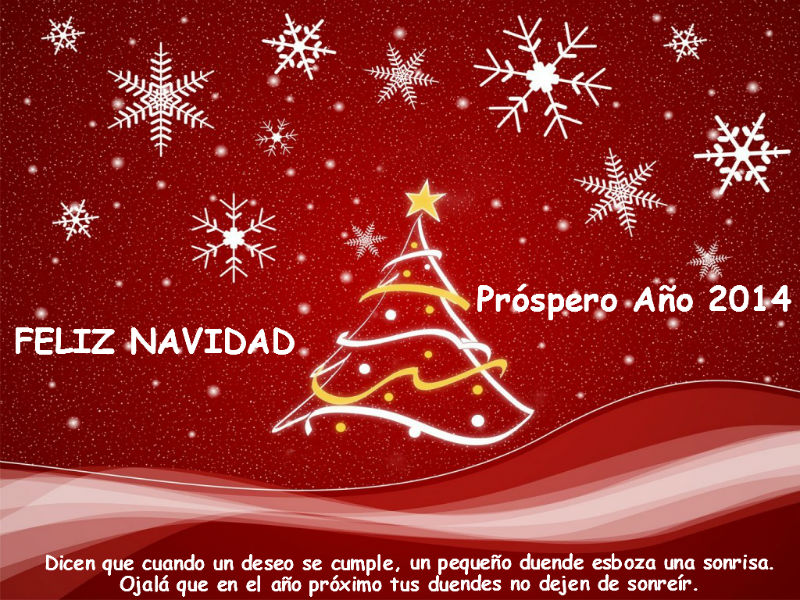 tarjeta navidad blog
